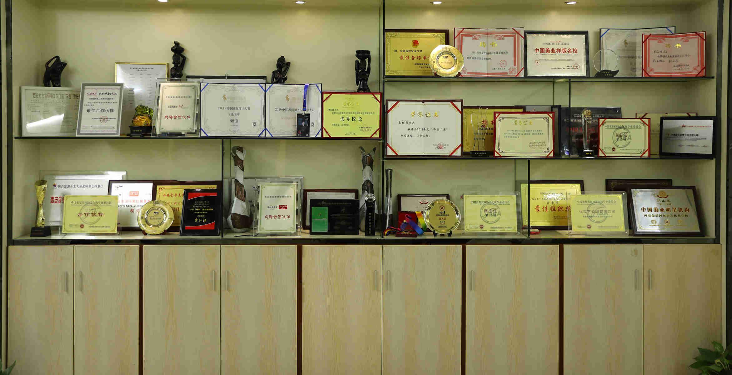 西安栗红强教育荣誉展示